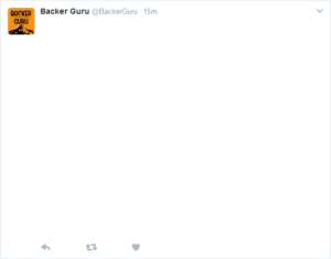 Tweet background for Backer Club